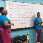 Members from Sisters in Spirit South Florida teaching self-worth to PAVE Students
